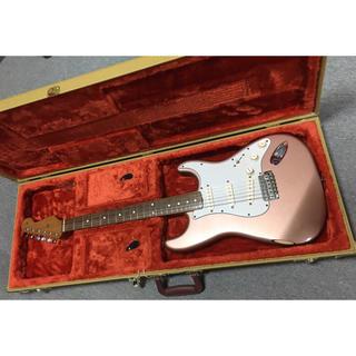 フェンダー(Fender)のFender MEX【美品】Classic60's strato 一部レリック (エレキギター)