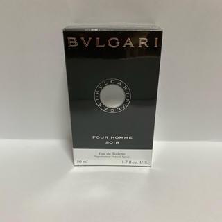 ブルガリ(BVLGARI)のブルガリ プールオム ソワール 50ml(香水(男性用))