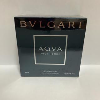 ブルガリ(BVLGARI)のブルガリ アクア プールオム オードトワレ 50ml(香水(男性用))