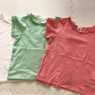エイチアンドエム(H&M)のH&M 半袖Tシャツ3枚組(Tシャツ/カットソー)