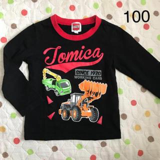 タカラトミー(Takara Tomy)の★美品★トミカ 100cm 半袖T (Tシャツ/カットソー)