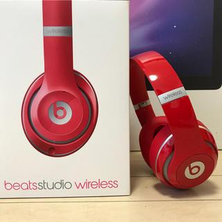 ビーツバイドクタードレ(Beats by Dr Dre)の美品   BEATS STUDIO ワイヤレスノイズキャンセリング(ヘッドフォン/イヤフォン)