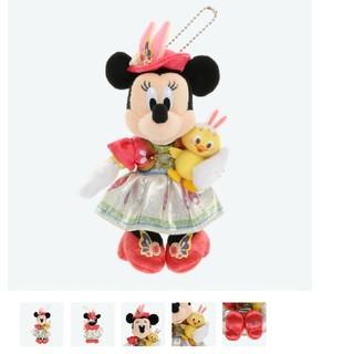 Disney - ミニー ぬいぐるみバッジ うさピヨ ディズニーシー
