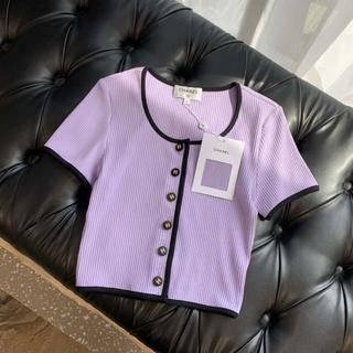 CHANEL - CHANEL トップス Tシャツ コットン  38