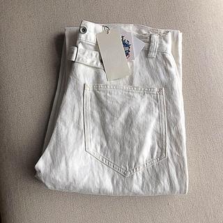 nest Robe - nestrobe リネンデニム ホワイト 定番セール除外品