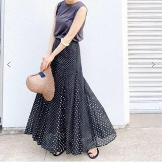 IENA - 2020SS IENA ヌキテパ別注ドットスカート