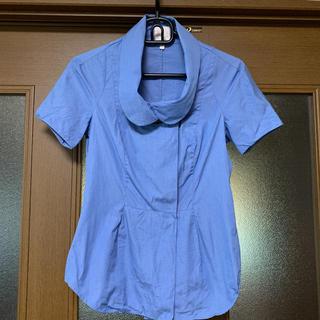 ヴィヴィアンウエストウッド(Vivienne Westwood)のVivienne Westwood☆ビッグボタンシャツ(シャツ/ブラウス(半袖/袖なし))