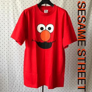 セサミストリート(SESAME STREET)のSesame Street セサミストリートUS限定エルモデザインTシャツ M(Tシャツ/カットソー(半袖/袖なし))