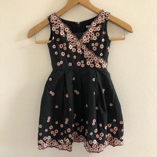 トッカ(TOCCA)のTOCCA✩刺繍ワンピース(ドレス/フォーマル)