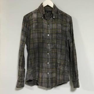 アメリカンラグシー(AMERICAN RAG CIE)の本物アメリカンラグシーAMERICANRAGCIEムラ染タイトチェックネルシャツ(シャツ)