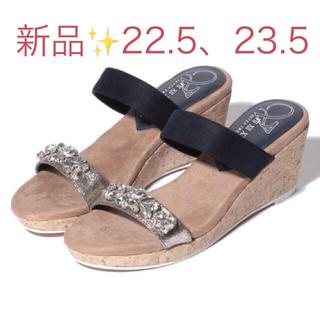 VII XII XXX - 新品♡定価14850円 サンダル BLACK サイズS、M 大特価❣️