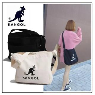 KANGOL - KANGOL ショルダーバッグ 肩掛け カバン 黒 ブラック 韓国