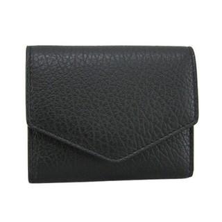 Maison Martin Margiela - 【新品未使用】マルジェラ 三つ折り財布 ブラック