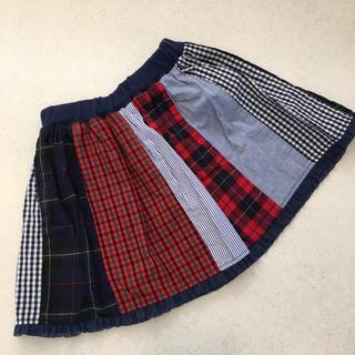 ファミリア(familiar)のファミリア♡ボトムス 100 ⑥ スカート(スカート)
