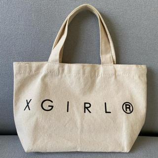 エックスガール(X-girl)の【USED】WEB限定 X-girlミニトート(トートバッグ)