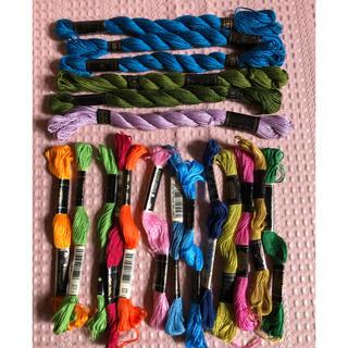 オリンパス(OLYMPUS)の刺繍糸 オリンパス OMC cosmo 19本(生地/糸)