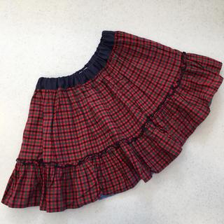ファミリア(familiar)のファミリア♡ボトムス 100 ⑧ スカート リバーシブル(スカート)