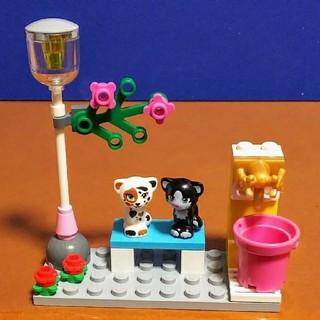 Lego - レゴ★フレンズ 公園ベンチのネコちゃん ミニフィグ オリジナルアレンジ 美品