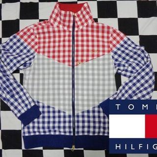 トミーヒルフィガー(TOMMY HILFIGER)の【TOMMY】トミーヒルフィガーブルゾンコットンジャケットL(ブルゾン)