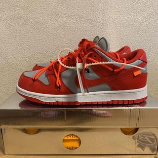 NIKE dunk low off white us10(28cm) 新品(スニーカー)