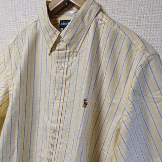 Ralph Lauren - 【新品】ラルフローレン 半袖シャツ メンズ ストライプ