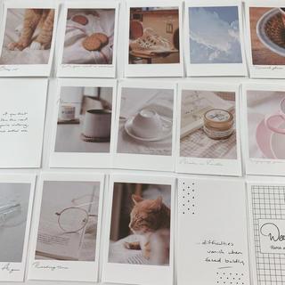 メッセージカード 25枚(ネコと空)(カード/レター/ラッピング)