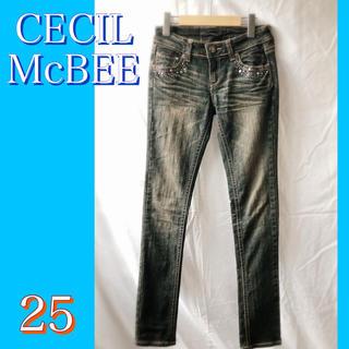 セシルマクビー(CECIL McBEE)のCECILMcBEEストレッチ デニム(デニム/ジーンズ)