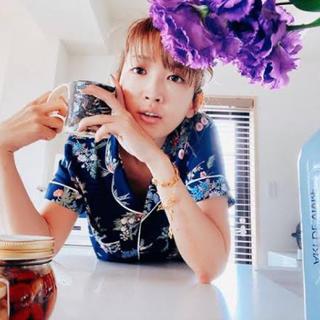 GU - GU 紗栄子 パジャマ L ネイビー