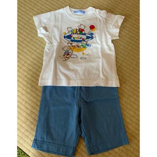 familiar - ファミリア Tシャツ&ズボン  90cm 土日価格♡