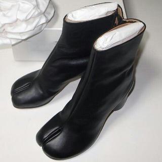 マルタンマルジェラ(Maison Martin Margiela)の新品未使用Maison Margiela足袋タビーブーツ36定番ブラック(ブーツ)