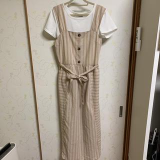 Avail - 新品タグ付き☆Tシャツ付き キャミワンピース Mサイズ