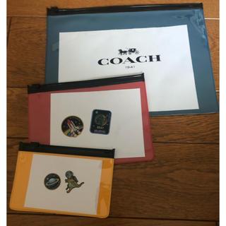 コーチ(COACH)のcoach  スライダーケース 新品 未使用 MENSNON-NO雑誌付録(ファイル/バインダー)