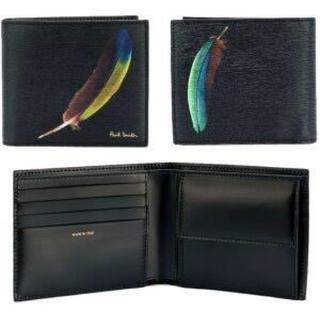 ポールスミス(Paul Smith)のPaul smith wallet フェザー(折り財布)