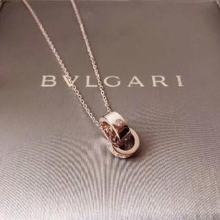 BVLGARI - ブルガリ ビー・ゼロワン パヴェダイヤ ネックレス