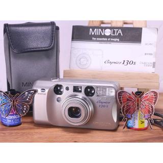 完動品◎ Minolta Capios 130S フィルムカメラ