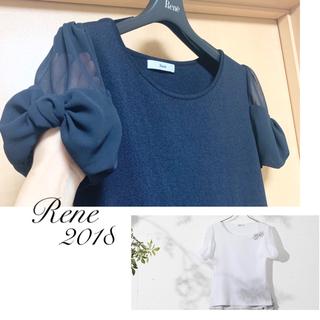 René - Rene♡ 2018年 お袖リボントップス