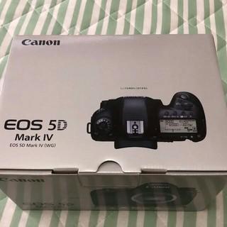 Canon - 【新品未使用】EOS 5D Mark Ⅳ ボディ