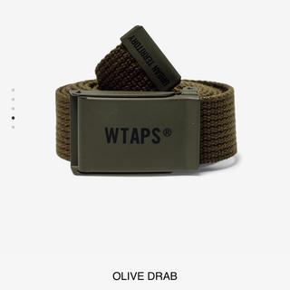 W)taps - WTAPS GIB BELT OLIVE DRAB