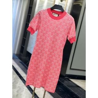 グッチ(Gucci)のGucciワンピース半袖 (Tシャツ(半袖/袖なし))