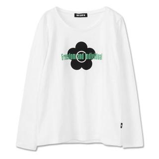 MARY QUANT - 今季物 マリクワ  デイジーシンボルロゴ長袖Tシャツ ロンT