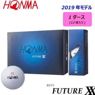 本間ゴルフ - 本間ゴルフ HONMA ボール FUTURE XX ボール 1ダース 12個入り