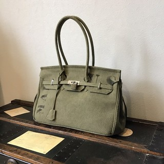 L'Appartement DEUXIEME CLASSE - 新品 レタリング ヴィンテージ  ミリタリーバッグ travelbag L40