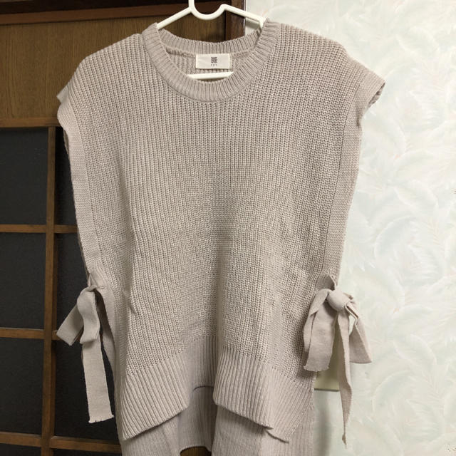 rps(アルピーエス)のニットベスト レディースのトップス(ニット/セーター)の商品写真
