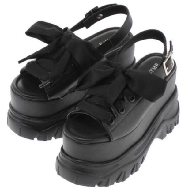 EATME(イートミー)のEATME 厚底レースアップサンダル レディースの靴/シューズ(サンダル)の商品写真