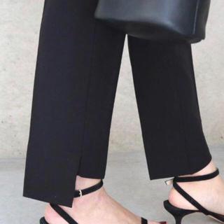 DEUXIEME CLASSE - 【新品・未使用】eLLa  予約s/s slit pants(black)