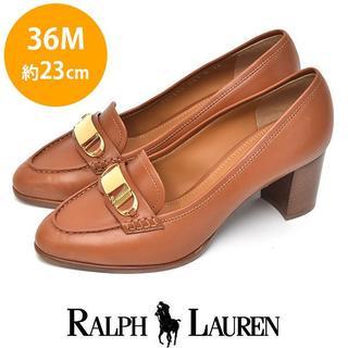 ラルフローレン(Ralph Lauren)の新品❤️ラルフローレン プレート ローファーパンプス 36M(約23cm)(ハイヒール/パンプス)
