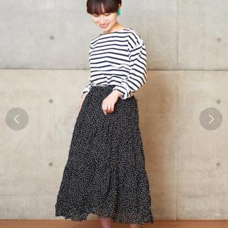 ドットアンドストライプスチャイルドウーマン(Dot&Stripes CHILDWOMAN)のDot&Stripes childwoman ハンドワッシャースカート(ロングスカート)