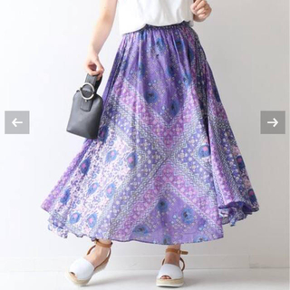 Spick and Span - 新品タグ付き★ne Quittez pas×Spick&Span スカート