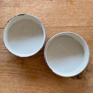 【2枚セット】石岡信之 小皿 うつわ 器 作家もの