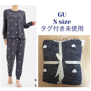 GU - GU✨ラウンジセット(長袖・ハート)✨タグ付き未使用
